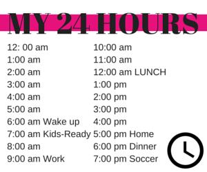 24 hours List