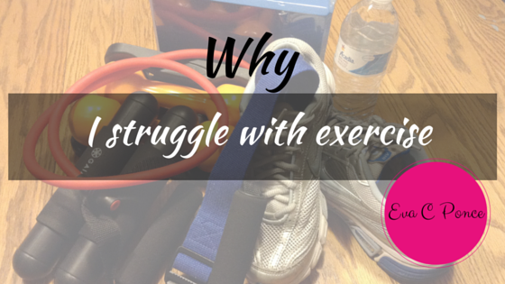 Why exercise is NOT my passion
