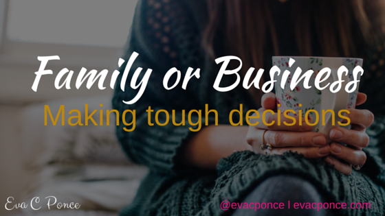 Decisions, Decisions – Family vs Business