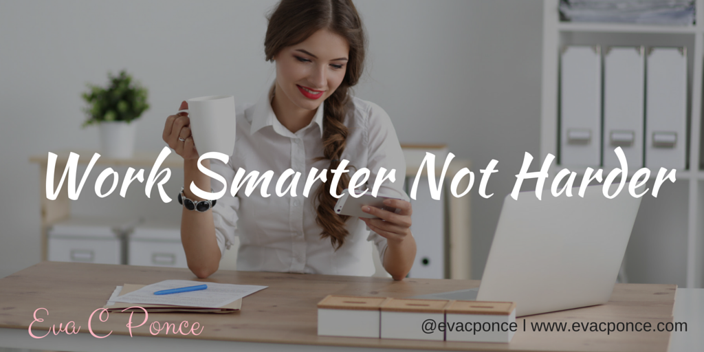 5 ways to work Smarter not Harder