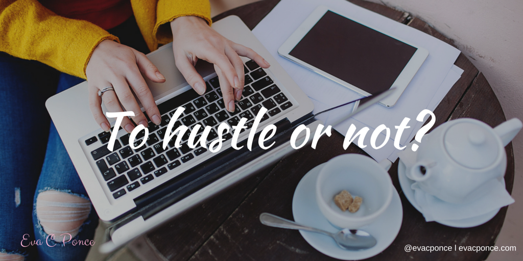 Becoming successful without the 24/7 HUSTLE, is it possible?