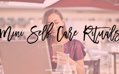 Mini Self Care Rituals